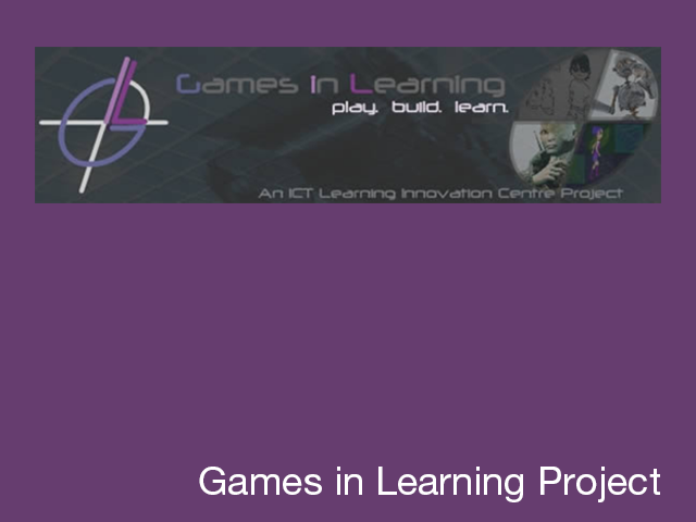 Games in Learning project