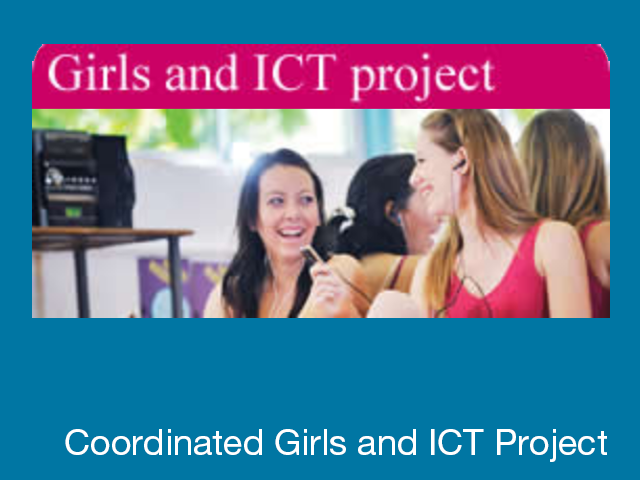 Coordinated Girls and ICT project